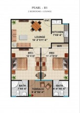 pearl B1 - Two Bedrooms