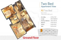 R2 Two Bedrooms Apartment