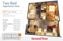 R10 Two Bedrooms Apartment