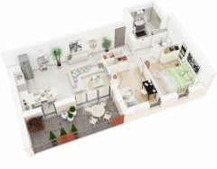 One Bedrooms Apartments