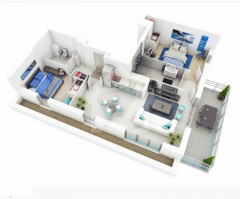 Two Bedrooms Apartments