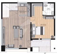 Internal Ground Floor cottage-B  - One Bedroom