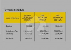 Payment Plan For Bright Hills