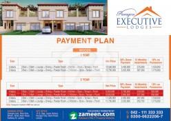 Executive Lodges Payment Plan
