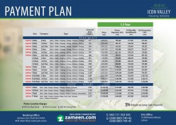 Icon Valley Payment Plan